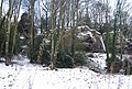 High Rocks in the snow - geograph.org.uk - 1152066.jpg