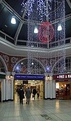 High Street Kensington tube station MMB 02.jpg
