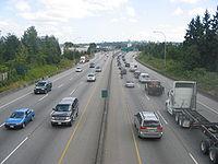 """De snelweg """"Highway 1"""""""
