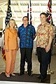Hillary Rodham Clinton, Murray McCully and Richard Marles, August 31, 2012.jpg