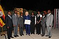 Hillary Rodham Clinton with 2011 Human Rights Defender Award recipients.jpg