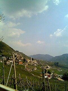 Valdobbiadene Comune in Veneto, Italy