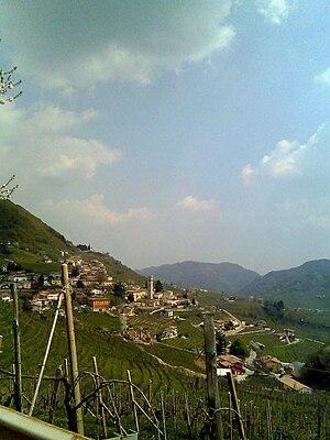Prosecco - The vineyards of Valdobbiadene