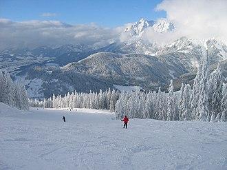 Maria Alm - Skiing at Hinterthal