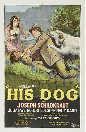 His Dog - Film poster