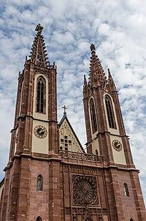 Rheingauer Dom Church in Geisenheim, Germany