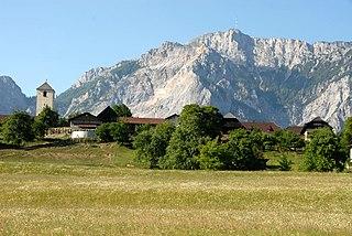 Hohenthurn Place in Carinthia, Austria