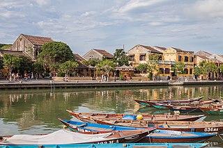 Hội An City in Quảng Nam Province, Vietnam