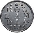 Hollandse duit. 1753. back.jpg