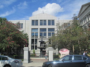 Ernest Hollings - The Hollings Judicial Center at 83 Meeting Street in Downtown Charleston is named for the former governor and senator.