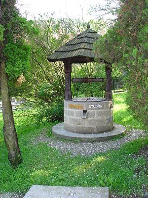 "Dúbravka, Bratislava - Historical ""Horánska studňa"" in Old Dúbravka"