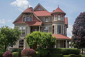 National Register of Historic Places listings in Muskegon County, Michigan - Image: Horatio N. Hovey House