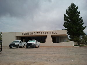 Horizon City, Texas - Horizon City Town Hall