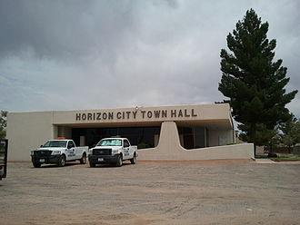 Horizon City, Texas - Horizon City Town Hall