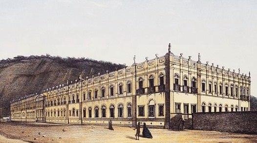 Hospício D Pedro II - Atual Palácio Universitário da UFRJ - Praia Vermelha
