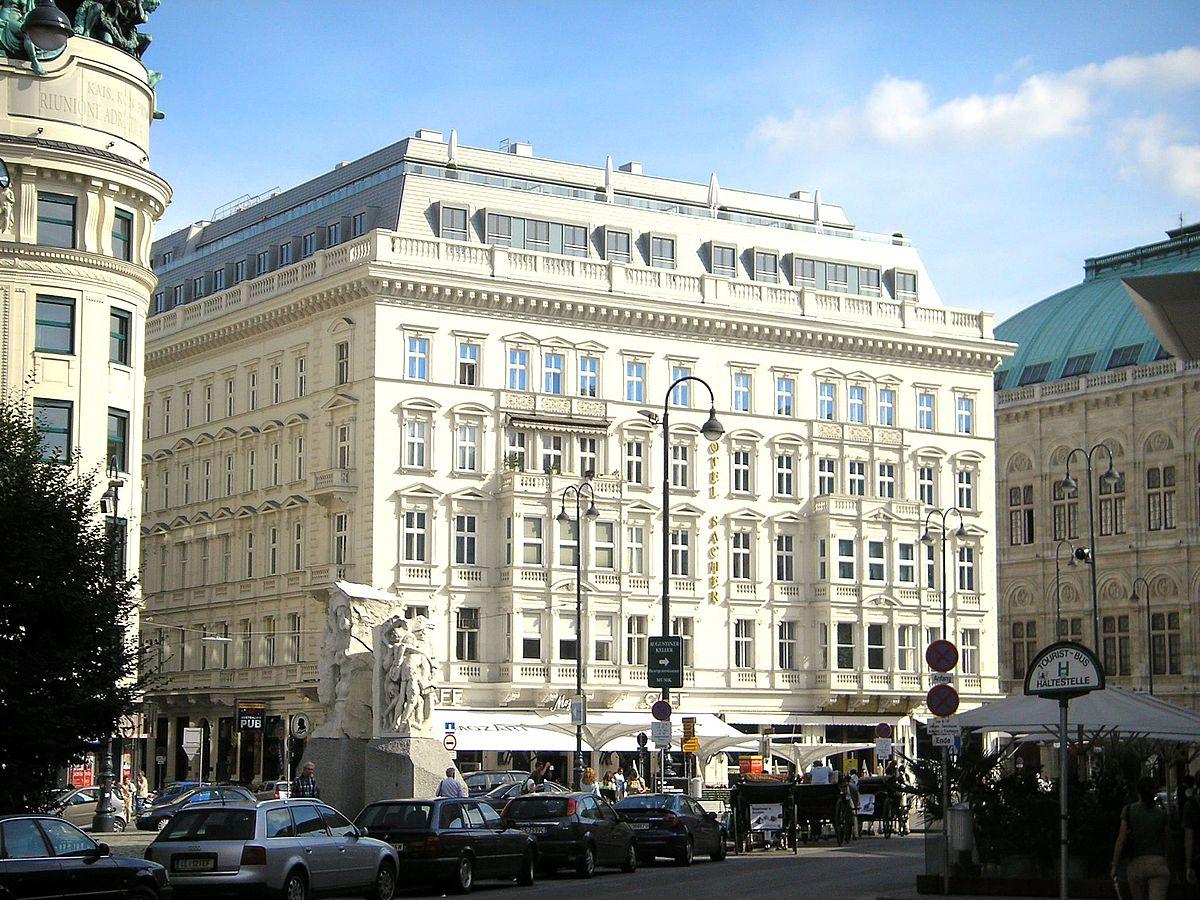Hotel Bristol Wien Speisekarte