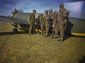 General Aircraft Hotspur - Airborne forces with a Hotspur glider