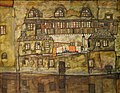 House Wall on the River Egon Schiele 1915.jpg