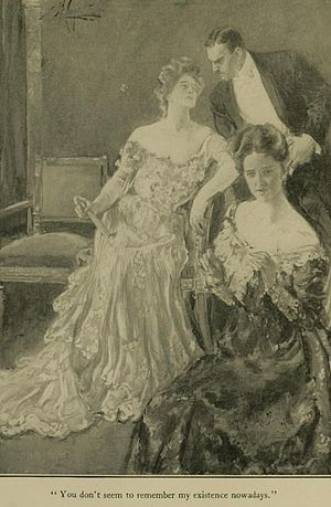 The House of Mirth - In The House of Mirth (1905), Lily Bart enjoys the attentions of a gentleman.