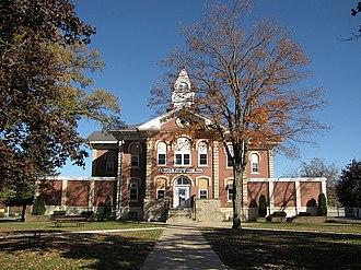 Howard County, Iowa - Image: Howard County Courthouse Cresco Iowa