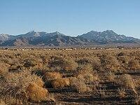 Hualapai Mountains Arizona from Kingman.JPG