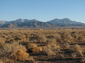 Hualapai Mountains Arizona from Kingman.JPG