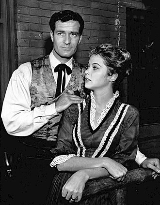 Hugh O'Brian - With Louise Fletcher (1959)