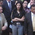 Human Abedin watching Hillary Clinton's 2008 primary concession speech (2560411751).jpg