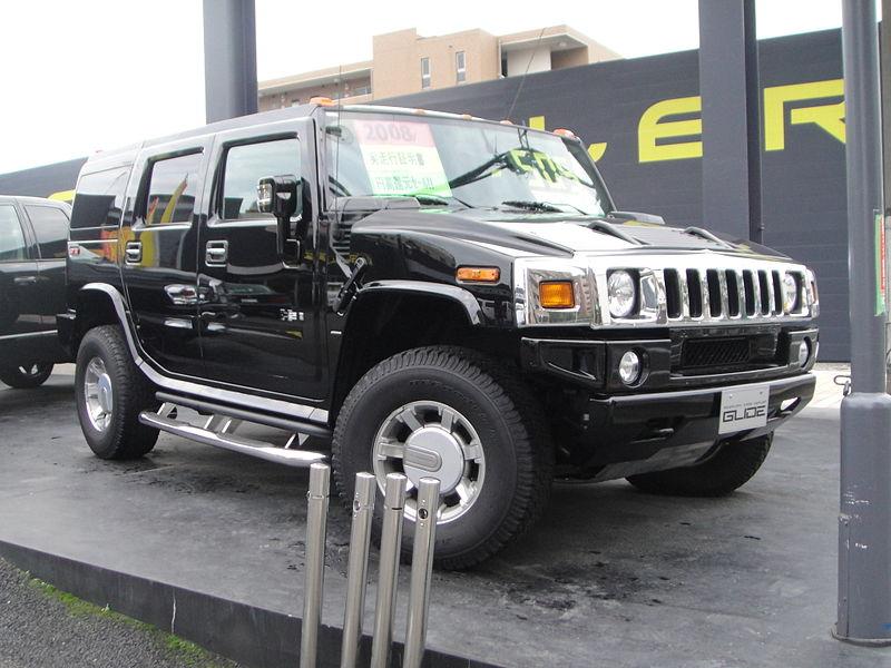 Hummer H2 front Black.jpg