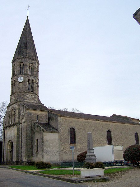 Church of Hure (Gironde, France)
