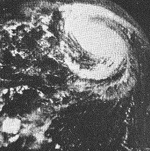 1961 Atlantic hurricane season - Image: Hurricane Betsy 1961