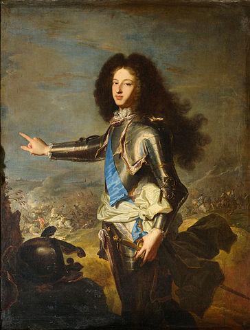 Гиацинт Риго. Портрет герцога Бургундского. Ок. 1704