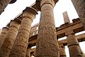 Hypostyle column in the Temple of Amun - panoramio.jpg