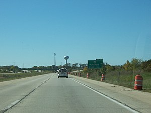 Interstate 43 - I-43 at WIS 83