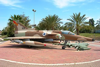 Israeli Air Force Museum - IAI Kfir