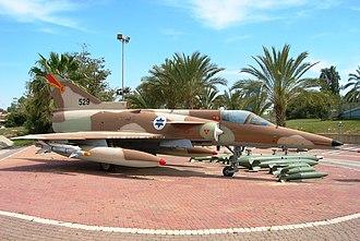 Israeli Air Force Museum - IAI Kfir