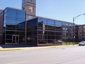 Illinois College of Optometry - The front of the RC.