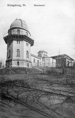 Koenigsberg Observatory - Image: ID003729 B162 Sternwarte