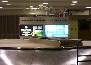 Idaho Falls Regional Airport - Baggage claim area, 2006