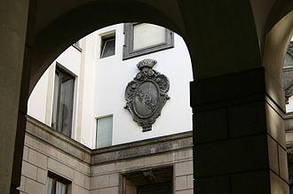 The Nun of Monza - De Leyva family crest