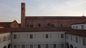 IMT School for Advanced Studies Lucca - IMT Lucca San Francesco Campus with a view over the San Francesco Church
