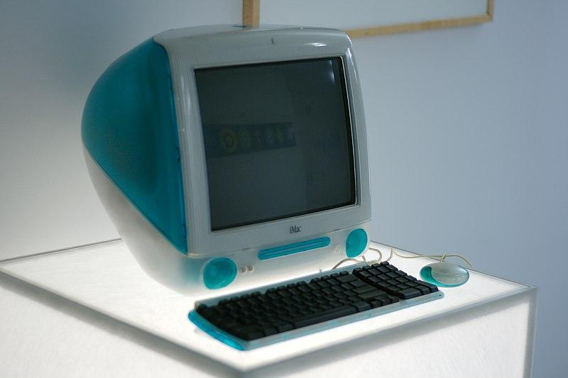 File:IMac, Google NY office computer museum.jpg