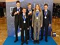 IPhO-2019 07-14 team Germany medals.jpg