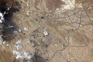 ISS-44 Mecca, Saudi Arabia