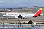 Iberia, Airbus A321-213, EC-JDR - MAD (19417198639).jpg
