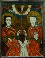 Icon - The Trinity, from Glass Icon Collection, no. 559. Maramureş Museum in Sighet, Romania.tif