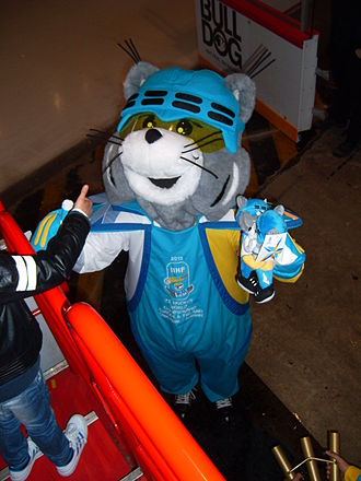 2013 IIHF World Championship - Icy, the mascot for the tournament.