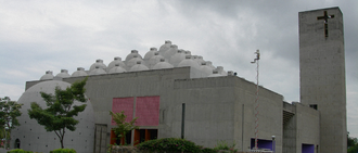 Ricardo Legorreta - New Cathedral of Managua, Nicaragua
