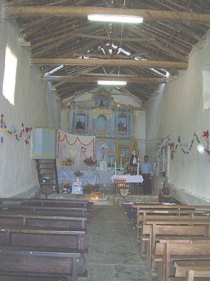 Cocabamba District - Church of Cocabamba.
