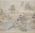 Ikeno Taiga 池大雅 - Peach Blossom Spring (after Shao Zhenxian) - 1988.431 - Arthur M. Sackler Museum.jpg